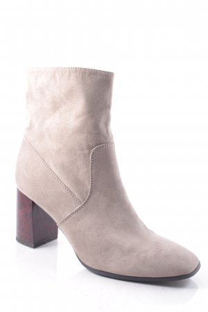 Tamaris Zipper Booties beige simple style