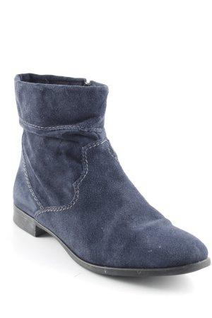 Tamaris Reißverschluss-Stiefeletten dunkelblau Casual-Look