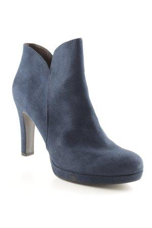 Tamaris Reißverschluss-Stiefeletten dunkelblau Elegant