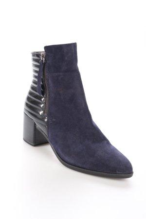 Tamaris Reißverschluss-Stiefeletten dunkelblau-schwarz Urban-Look