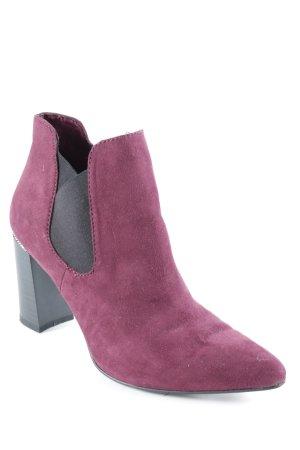 Tamaris Reißverschluss-Stiefeletten purpur Elegant