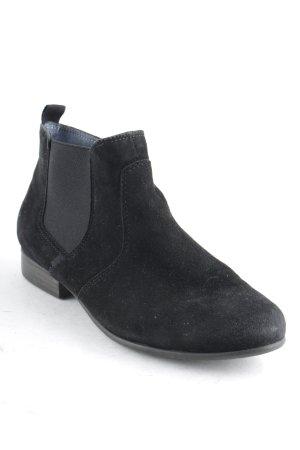 Tamaris Reißverschluss-Stiefeletten schwarz