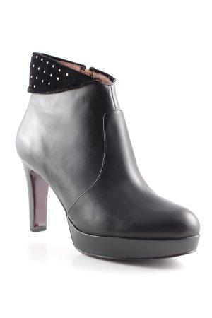 Tamaris Reißverschluss-Stiefeletten schwarz-weiß minimalistischer Stil