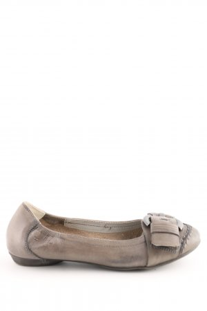 Tamaris Strappy Ballerinas natural white casual look