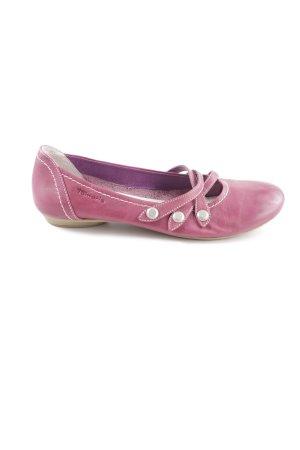 Tamaris Riemchen Ballerinas pink Casual-Look