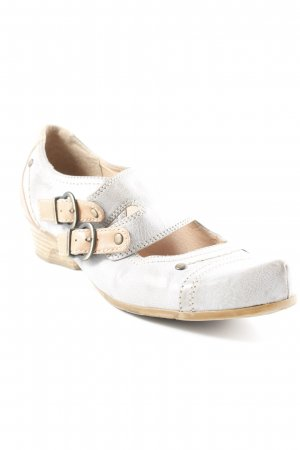 Tamaris Riemchen Ballerinas hellgrau-beige schlichter Stil