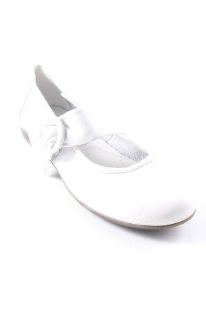 Tamaris Riemchen Ballerinas weiß schlichter Stil