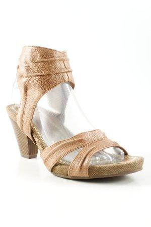 Tamaris Riemchen-Sandalen beige Casual-Look