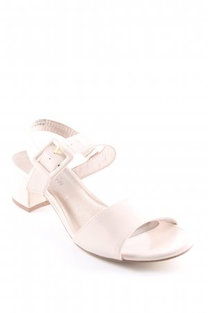 Tamaris Sandalias de tiras beige claro elegante