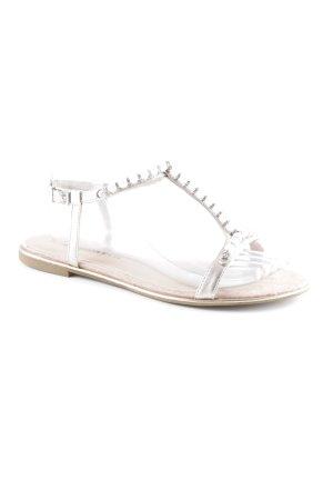 Tamaris Strapped Sandals pink beach look