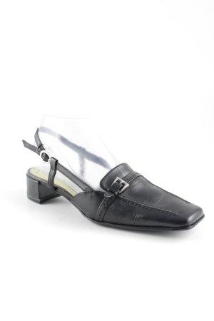 Tamaris Riemchen-Sandalen schwarz Casual-Look