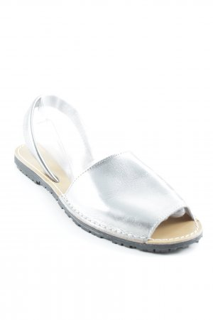 Tamaris Strapped Sandals silver-colored metallic look