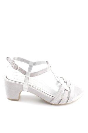Tamaris Sandalias de tacón de tiras blanco look casual