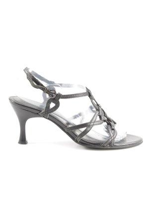 Tamaris Riemchen-Sandaletten schwarz Elegant