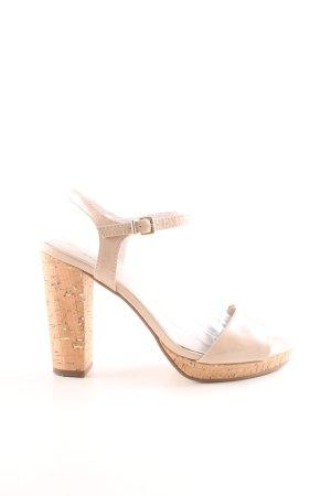 Tamaris Riemchen-Sandaletten wollweiß Elegant