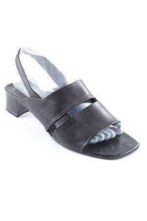 Tamaris Strapped High-Heeled Sandals black beach look