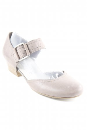 Tamaris Strapped pumps grey brown simple style