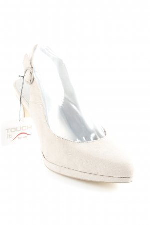 Tamaris Strapped pumps light grey classic style