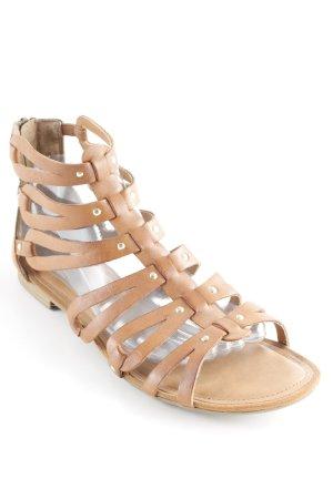 Tamaris Romeinse sandalen bruin Zigeuner stijl