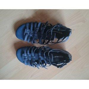 Tamaris Romeinse sandalen donkerblauw