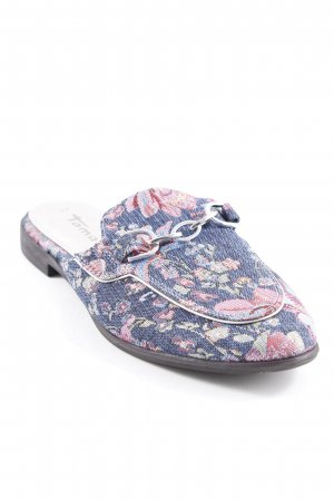 Tamaris Sabots floral pattern casual look