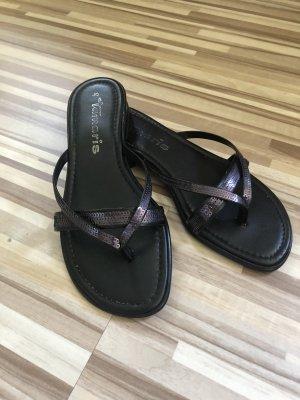 Tamaris Sandale Gr. 35 schwarz