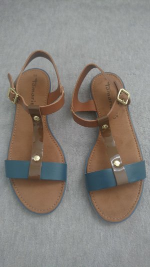 Tamaris Strapped Sandals multicolored leather