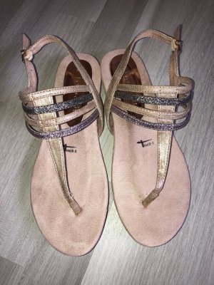 Tamaris Toe-Post sandals multicolored