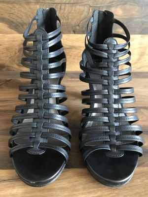 Tamaris Roman Sandals black leather