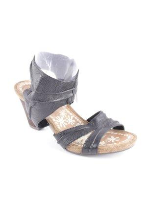 Tamaris Sandalen dunkelbraun klassischer Stil