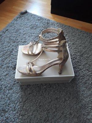 Tamaris High Heel Sandal gold-colored