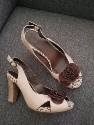 Tamaris Sandals brown-beige