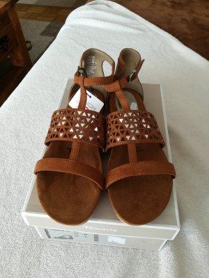 Tamaris Roman Sandals brown