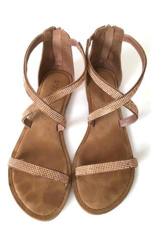 Tamaris Roman Sandals rose-gold-coloured-brown