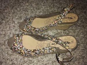 Tamaris Sandalette mit Keilabsatz Größe 38