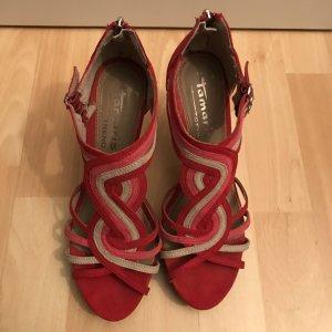 Tamaris Sandalette rot/pink