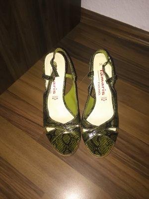 Tamaris Sandaletten in Schlangenmuster