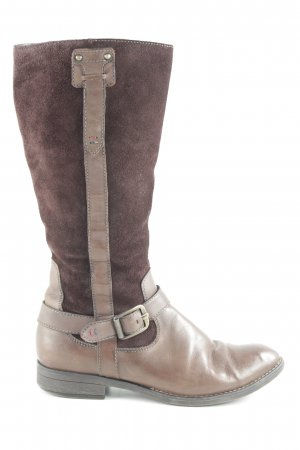 Tamaris Jackboots dark brown casual look