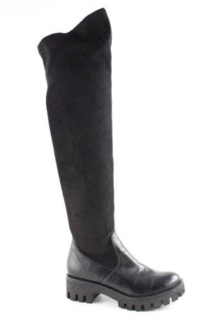 Tamaris Schaftstiefel schwarz extravaganter Stil