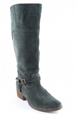 Tamaris Jackboots forest green country style