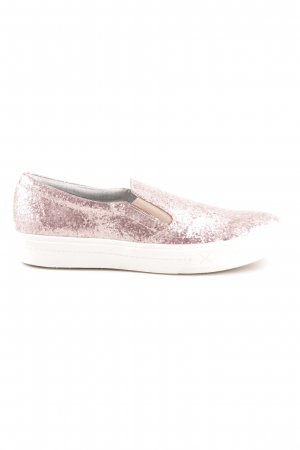 Tamaris Slip-on Shoes pink glittery