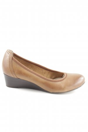 Tamaris Scarpa slip-on marrone stile casual