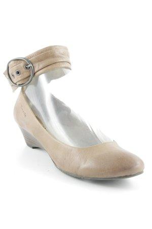 Tamaris Schlüpfschuhe beige Casual-Look