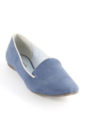 Tamaris Schlüpfschuhe goldfarben-graublau schlichter Stil