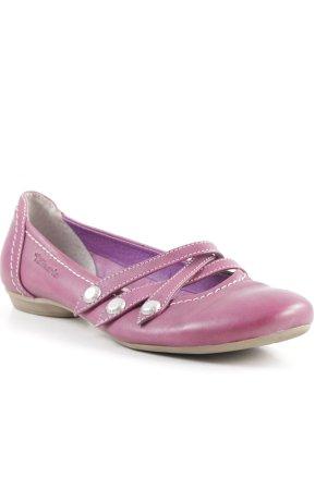 Tamaris Schlüpfschuhe violett Casual-Look