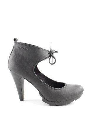 Tamaris Lace-up Pumps black extravagant style