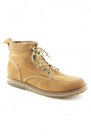 Tamaris Lace-up Booties light brown casual look