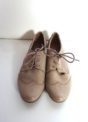 Tamaris Schnürschuh grau/beige