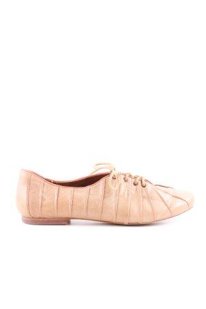 Tamaris Zapatos brogue nude estilo «business»