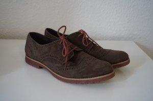 Tamaris Budapest schoenen donkerbruin-bordeaux